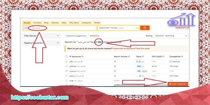 قیمت بهینه سازی سایت