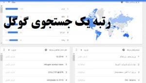 رتبه یک جستجوی گوگل